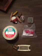 Vintage fishing tackle assorted