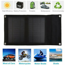 7W Portable Folding Solar Panel Charger 5V USB Bag Battery Pack Outdoor WW