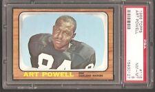 1966 Topps #116 Art Powell Raiders PSA 8 NrMt-Mint