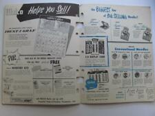 WALCO Phonograph Needle Replacement Guide/Pricing Advertising Displays Brochure