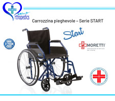Moretti Start CP100-48 Sedia a Rotelle per Disabili - Nera