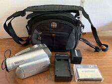 Panasonic PV-GS39 Mini DV Camcorder - Battery, Charger, Tape - Transfer
