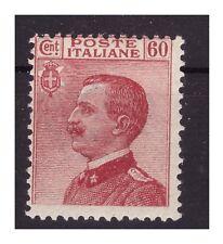 REGNO 1917 - MICHETTI  Cent.  60 carminio  NUOVO **