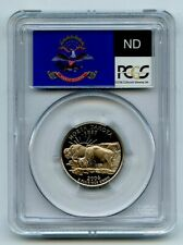 2006 S 25C Clad North Dakota Quarter PCGS PR70DCAM