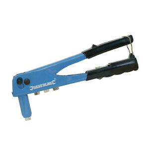Silverline Hand Riveter 2.4mm 3.2mm 4.0mm 4.8mm 868792