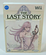 The Last Story Limited Edition with Artbook Music CD Bundle for Nintendo Wii NEW