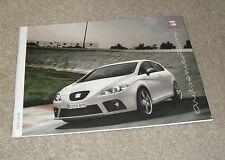 Seat Leon Brochure 2008 - Cupra K1 FR Emocion Stylance 2.0 TDI 1.9 TDI 1.4 1.6