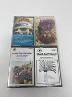 50s 60s party island music Cassette Tapes Lot- la bamba lambada be happy - RARE!