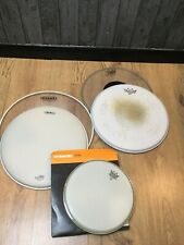 Bundle Of Remo And Evans Drum Heads