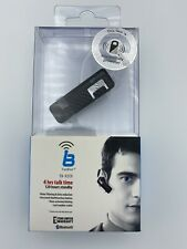 True Blue Black Armored Bluetooth Headset Tb-92Ex New