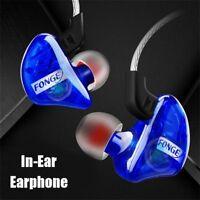 Fonge T01 Waterproof Stereo Bass In-Ear Earphone Sports Running Headset Earbuds