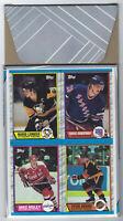 1989/90 Topps BOX BOTTOM NHL HOCKEY CARD #A MARIO LEMIEUX Main Player in Group