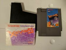 Ninendo NES Xevious Authentic & Tested | Cart and Manual