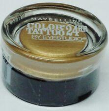 1 Maybelline Color Tattoo By EyeStudio 24hr Eyeshadow BOLD GOLD #45 Sealed Rare