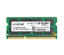 RAM For Crucial 4GB PC3 DDR3 204pin Sodimm different parameter Memory Laptop @fr