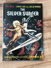 THE SILVER SURFER Graphic Novel Near Perfect CGC It signed by  Jack Kirby!