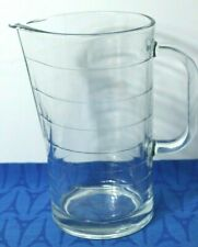 "IKEA SVEPA Pitcher or Jug 10288 32 ounces 7 1/4"" h, Made in Italy, NEAR MINT"