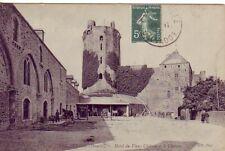 CPA 50 Surtainville Sottevast Valognes BRICQUEBEC Hôtel du Vieux Château 1907
