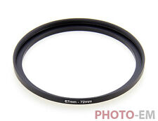 67 mm - 72 MM filtro adaptador step up anillo adaptador de filtro z-0462