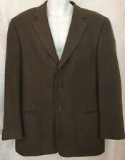 Giorgio Armani Jacket 3 Button Wool Grey And Taupe Size 56R