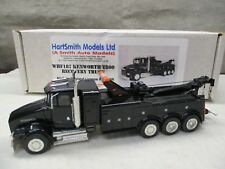 ASAM Kenworth T800 Recovery Wrecker Toe Truck Black WHF187 1/48 HartSmith Models