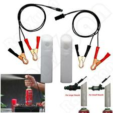 Auto DIY Fuel Injector Flush Cleaner Engine Cleaner Adapter Tool Kit For All Car
