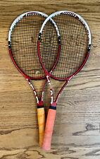 Two Used Head Flexpoint Prestige (FXP) Team Tennis Racquets | Grip size 4 3/8