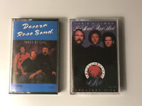 Desert Rose Band Lot Of 2 Cassettes Pages Of Life Greatest Hits Chris Hillman