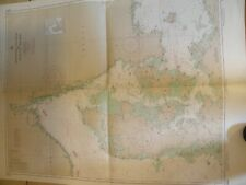 1960's NAUTICAL CHART SKAGERRAK-KATTEGAT AND ADJACENT WATERS
