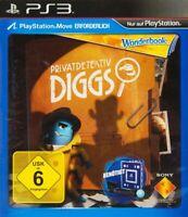 PS3 - Privatdetektiv Diggs / Diggs Nightcrawler benötigt Move DE/EN mit OVP