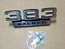 Mopar 69 70 Superbee 383 Magnum Fender Emblem NEW