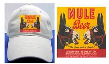 MULE BEER BALL CAP MCGOVERN BREWING