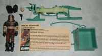 Lot 1984 GI Joe Zartan v1 Figure File Card Chameleon Swamp Skier *Near Complete*