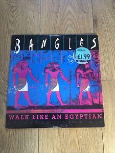 Bangles Walk Like An Egyptian vinyl 12 Inch