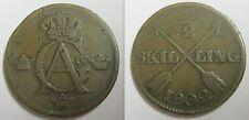 SUEDE - 1/2 SKILLING 1802 - GUSTAF IV