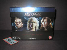 NEW SEALED BATTLESTAR GALACTICA BLU-RAY COMPLETE SERIES REGION FREE SEASON 1234