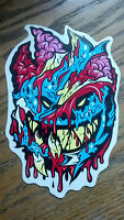 "SPITFIRE, SKATEBOARD STICKER, COLLECTOR SERIES-A, 7"" X 4-3/4"""