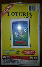 Authentic Don Clemente Loteria Mexican Bingo Card Game 10 Boards and 1 Deck