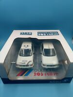 neuf jouet collection solido 1/18 edition limitee peugeot 205 rallye