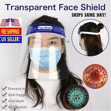 Reusable Washable Clear Face Shield Visor Mask Clear Anti Fog Visor protection