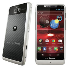 Motorola Droid RAZR M - 8GB - White (Verizon) Smartphone Very Good Condition