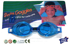 Kids Swimming Goggles & Ear Plugs / Blue