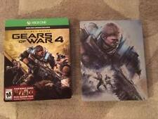 Gears Of War 4 Game PLUS Steelbook case! MINT CONDITION!!