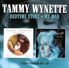 Bedtime Story/My Man by Tammy Wynette (CD, Feb-2016, Epic)