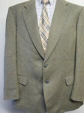 "Genuine BURBERRY uomo check Marrone Chiaro Lana Blazer Jacket 44"" R euro 54 R"