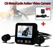Motorcycle Mounted Biker Action Video Ip57 Lens Camera DVR Sys C6 GPS Tracker