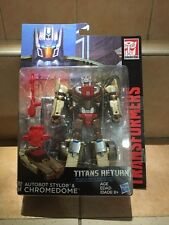 Transformers Titans Return Autobot Stylor & Chromedome NEW