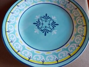 """Corelle Boutique 11"""" Dinner Plate Sorrento 6 Pack Brand New"""