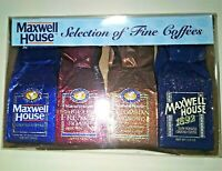 "Vintage New 1992 Maxwell House ""Selection of Fine Coffee"" - Still sealed in Box"