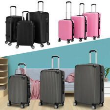 3In1 Travel Luggage Set Business Suitcase Trolley With TSA Customs Lock US